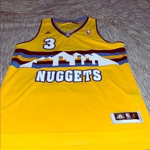 Adidas Denver Nuggets Ty Lawson Jersey Large